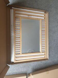 Arnette Bamboo Bathroom Mirror Ebay