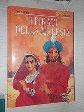 I PIRATI DELLA MALESIA Emilio Salgari Illustr Achille Picco Del Drago 1992 libro