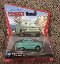 Disney Pixar Cars 2 Diecast Petrov Trunkov NEW