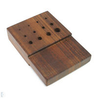 Rosewood Draw Plate 1.2mm-6.5mm - 12-120