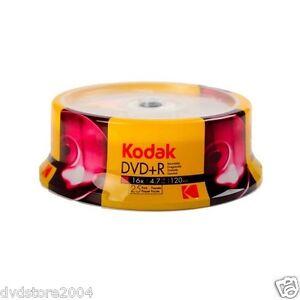 25-KODAK-DVD-R-Vergini-Vuoti-16X-4-7-GB-120-Minuti-1-cd-Verbatim-1310325