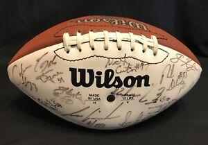 1995-TORONTO-ARGONAUTS-TEAM-SIGNED-FOOTBALL-41-Autographs-Pinball-CFL-ARGOS