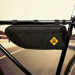 B-SOUL-Bicycle-Triangle-Bag-Bike-Frame-Front-Tube-Bag-Waterproof-Pannier-Pouch