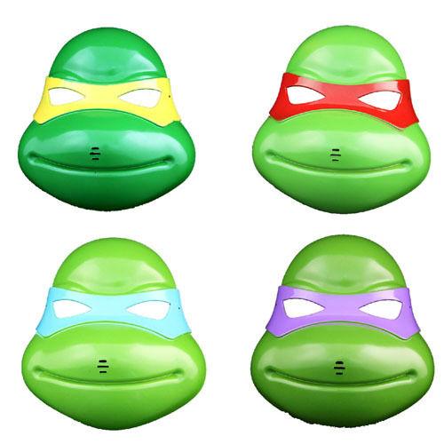 TMNT Teenage Mutant Ninja Turtles Masks Cosplay Costume Party Halloween Props
