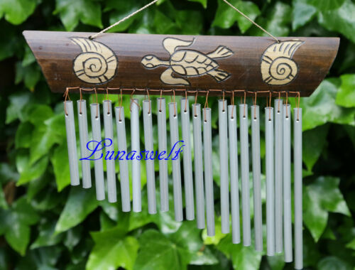 Aluröhren Shui Klangspiel-Windspiel-Klangharfe-Bambusschild Feng s