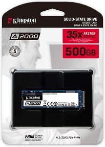 KINGSTON A2000 HARD DISK SSD STATO SOLIDO 2,5 500GB M.2 2280/NVMe PCI Express