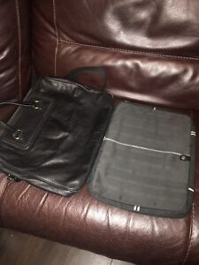 Image is loading Genuine-Hugo-Boss-Leather-Briefcase-Laptop-Bag-With- 63e84914c0a54
