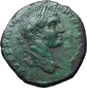 ELAGABALUS-218AD-Nude-HERCULES-Nicopolis-Ancient-Roman-Coin-i73219