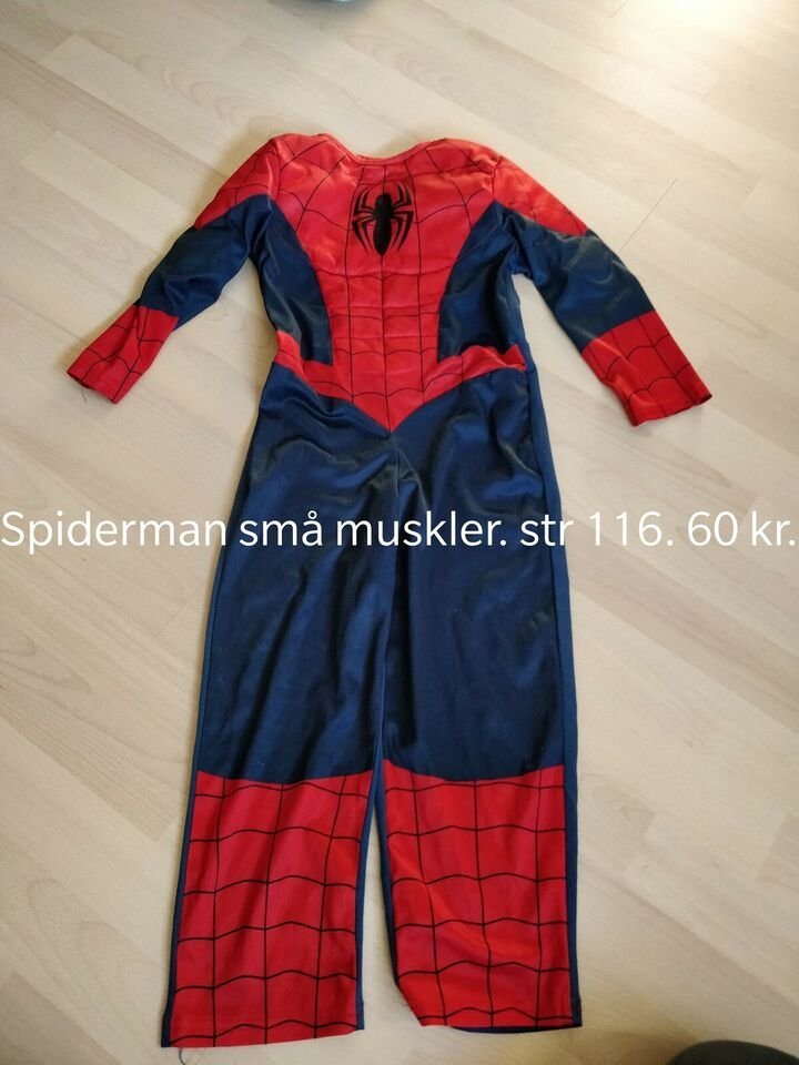 Udklædningstøj, Udklædning, Spiderman