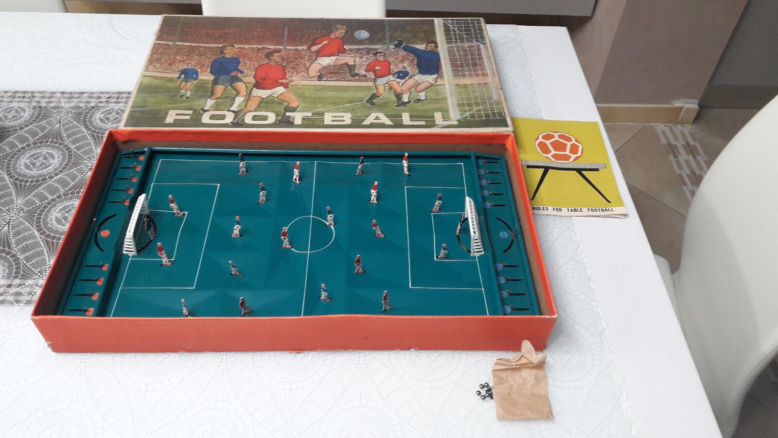 Football Biliardino Calcetto Vintage a molle Salco anni 50' 60' Scatola