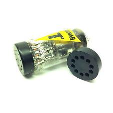 ( 2pcs.) B9A ( 9 Pin )  Original Mullard / Brimar  UK Valve Tubes  Pin Protector