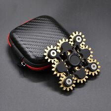 "Hot ""9 Gear"" linkage Metal Fantastic Hand Spinner Anti stress Relief Fidget Toy"