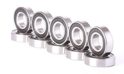 6205-2RS C3 Premium Sealed Ball Bearing 25x52x15mm 6205-rs Qty. 2