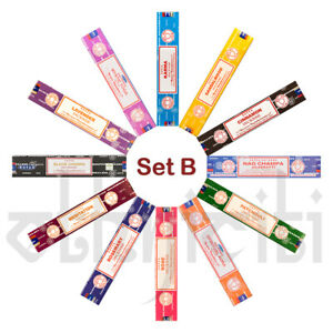 12-paquete-Variety-Satya-Genuino-Nag-Champa-Incienso-Joss-Set-B-Mezcla-Aromas