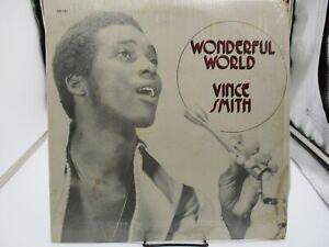 "Vince Smith ""Wonderful Life"" LP (VS 1201)  Shrink Canada VG+ c VG/VG+"