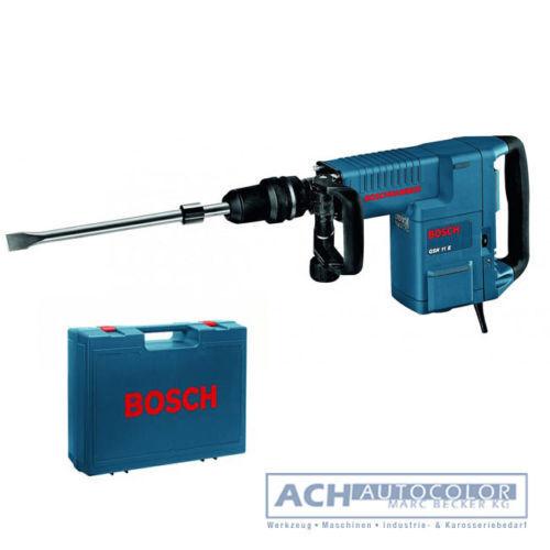 BOSCH BOSCHHAMMER Schlaghammer mit SDS MAX GSH 11 E 0611316703 GSH11 im KOFFER