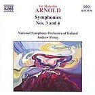 Sir Malcolm Arnold - Arnold: Symphonies Nos. 3 & 4 (1998)