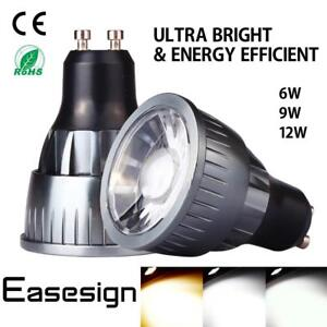 Easesign-Dimmable-Energy-Power-6W-9W-12W-MR16-GU10-COB-LED-Spotlight-Light-Bulb