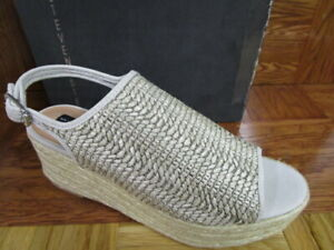 60f40503682 Details about Steven by Steve Madden Women's Courage Espadrille Wedge  Sandal Taupe Multi 9.5M