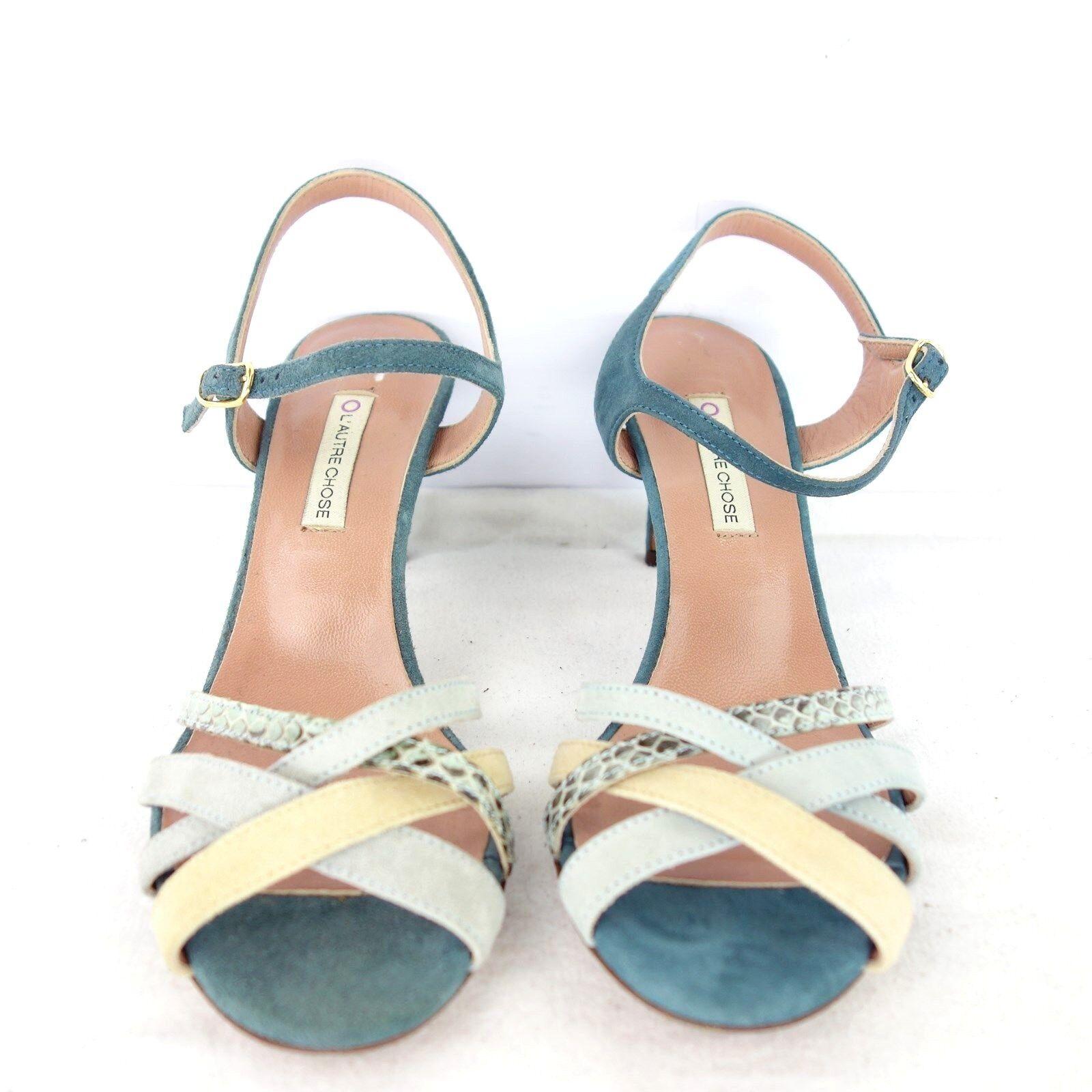 De L´ Autre Chose Mujer Correas Sandalias Bombas los Zapatos Varios Colors