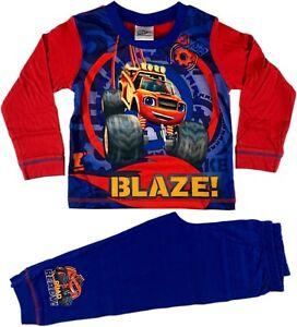 Boys JURASSIC WORLD pyjamas BLUE pjs character childrens nightwear 4-10 yrs
