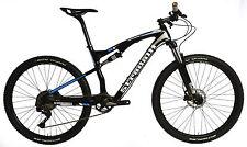 "STRADALLI CARBON DUAL SUSPENSION MOUNTAIN BIKE BICYCLE MTB 16"" S 27.5 650B XT"