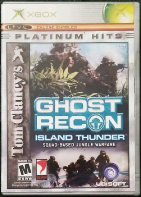 Tom Clancy's Ghost Recon Microsoft Xbox TESTED Game + Case FREE FAST SHIPPING