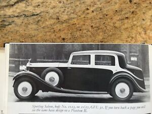 1932 Rolls Royce Touring (Ready to Assemble)