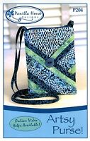 Artsy Purse Sewing Pattern, From Vanilla House,