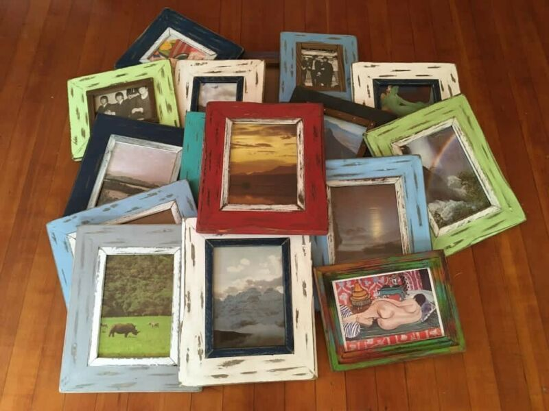 """""""Shabby Chic"""" rustic picture frames"""