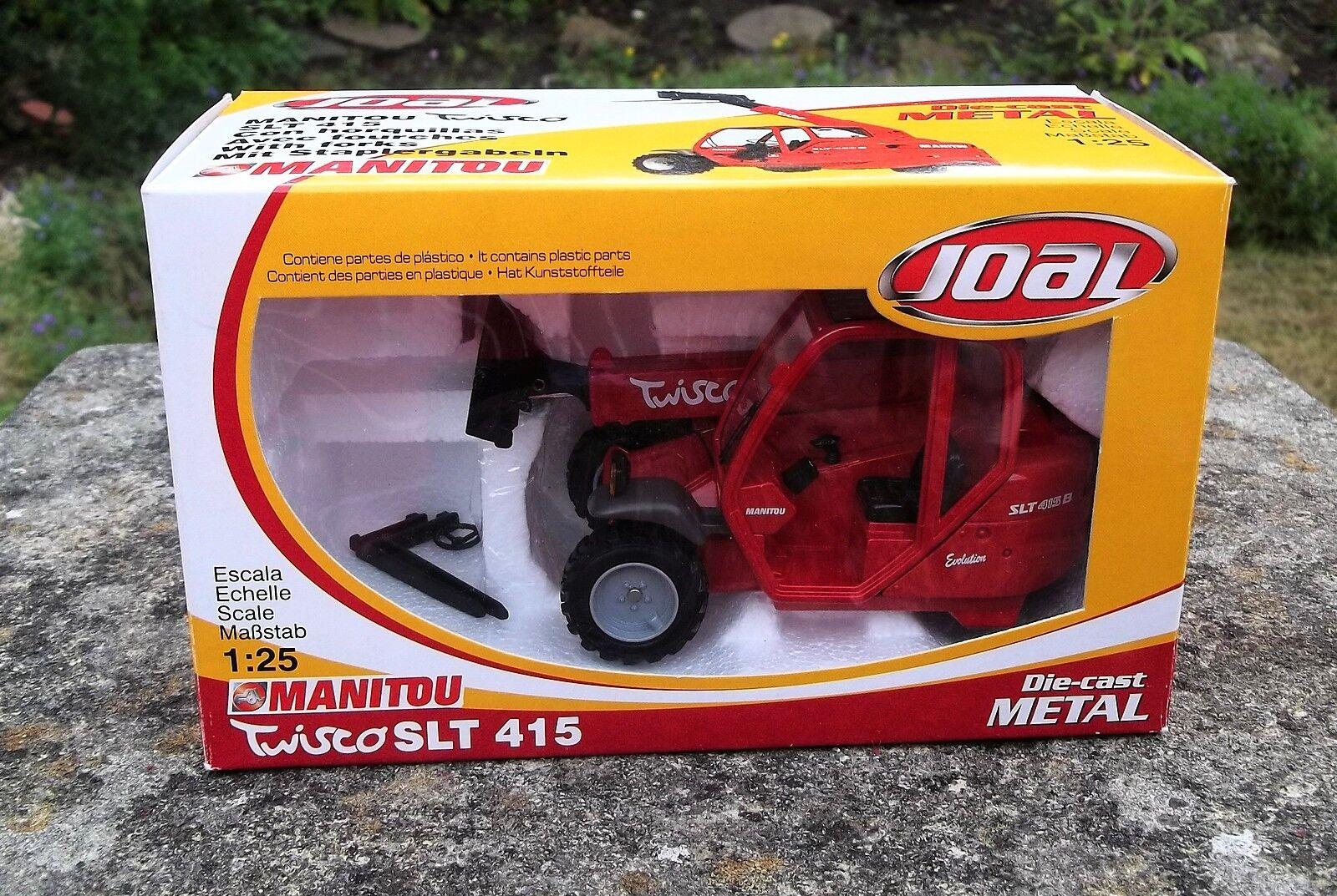 JOAL 1 25 diecast MANITOU TWISCO SLT415    LOADER - UNUSED BOXED 597f1d