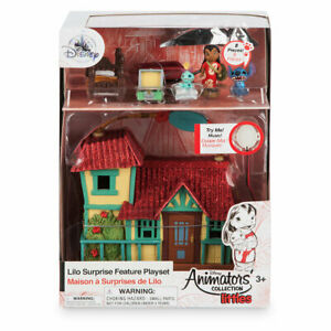 Disney-Animators-039-Collection-Littles-Lilo-Surprise-Feature-Playset-New-with-Box
