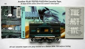 SUGAR-Copper-Blue-USA-CASSETTE-ALBUM-TESTED-Ryko-RACS-0239-90-039-s-Alternative