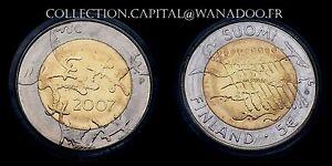 5€ Finlande 2007 BU