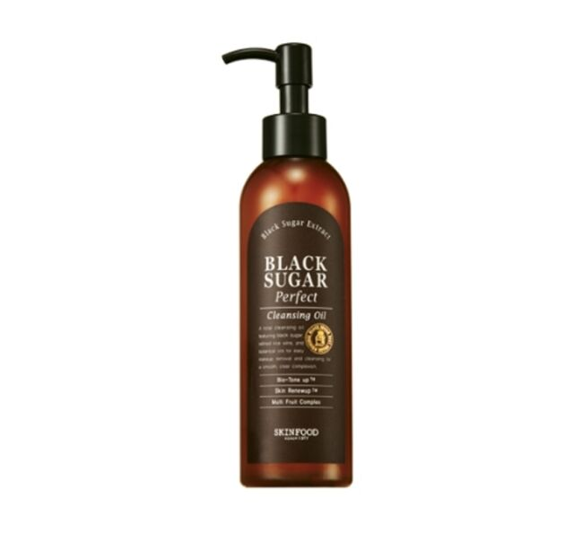 SKINFOOD  Black Sugar Perfect Cleansing Oil 200ml (NEW)  -Korea Cosmetics-