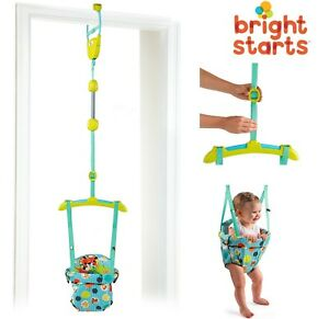 db59e854e Bright Starts Baby Door Jumper Swing Bouncer Adjustable Baby Infant ...