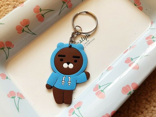 Cute Cartoon Key ring  Chain Party Kids Gift Charm Panda Bear Cat Giraffe Bunny