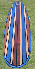 7FT Wood Surfboard Shower Bar Top Table Top Wall Board