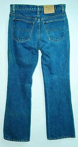 Vintage-100-COTTON-Classic-Rise-FLARE-Leg-JORDACHE-33-034-Inseam-Jeans-11-12