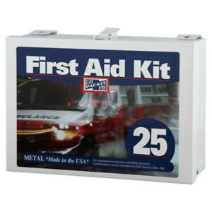 Pac-Kit 6086 159-Pc 25 Person ANSI First Aid Kit w/Non-Gasketed Case (1 Kit) New