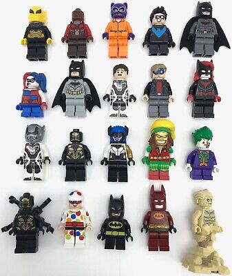 Lego New Super Hero DC Comics Minifigures Batman Cat-woman More YOU PICK
