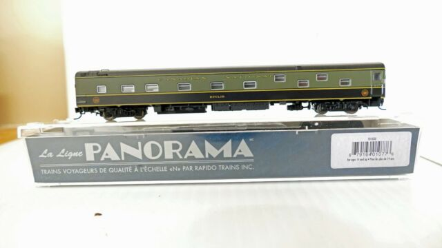N Scale Rapido Panorama Canadian National