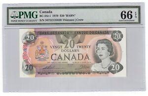Canada-20-Banknote-1979-BC-54c-i-PMG-GEM-UNC-66-EPQ