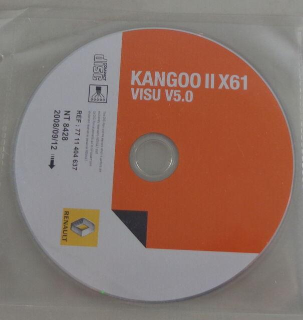 Electric Schematics On Cd Renault Kangoo Ii X61 Model Year Off 09  2008
