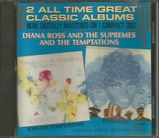 Join the Temptations / Together ~ Diana Ross & The Supremes - Early Motown CD