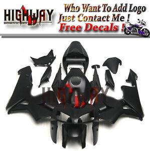 ABS-Fairing-Bodywork-Kits-For-Honda-CBR600-CBR600RR-F5-05-06-Matte-Black-Frames