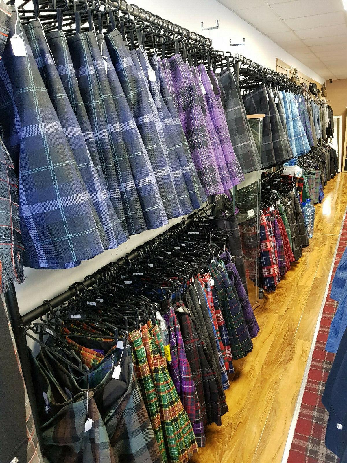 6 Yard Spirit of Scotland Tartan 16oz Wool Kilt 24