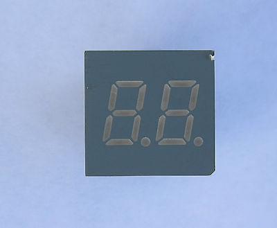 7 segment .30 inch 5 pcs LED Segment Display 2 digit common cathode green