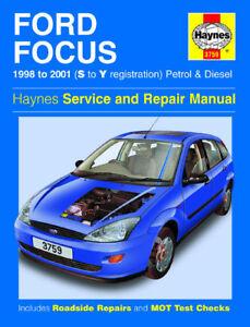 ford focus petrol diesel 98 01 haynes manual new 3759 ebay rh ebay co uk haynes manual ford focus 2015 haynes manual ford focus mk3