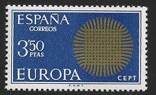 Spain Scott #1607, Single 1970 Complete Set FVF MNH